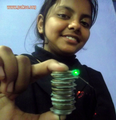 How To Make Coin Battery Project (Urdu, Video)