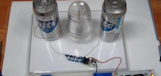 Build Simple Electrostatic Franklin's MotorBuild Simple Electrostatic Franklin's Motor