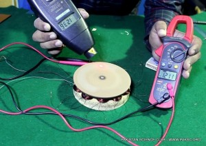 "How to make AC generator ""Permanent magnet alternator"" from old Hard disk drive magnets"