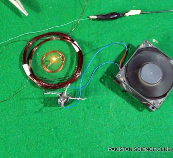 Wireless electricity transfer project