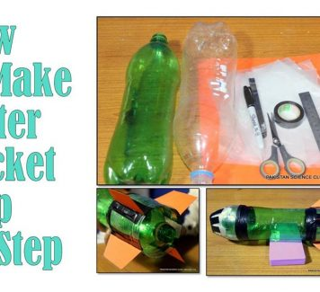 How to Make a Water Rocket Step By Step Instructions