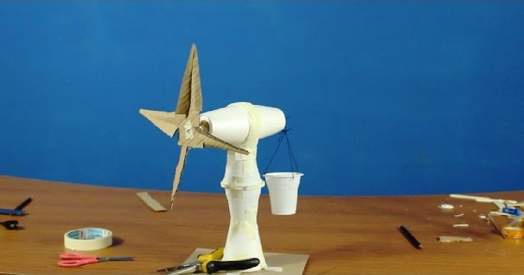 Windmill science fair project