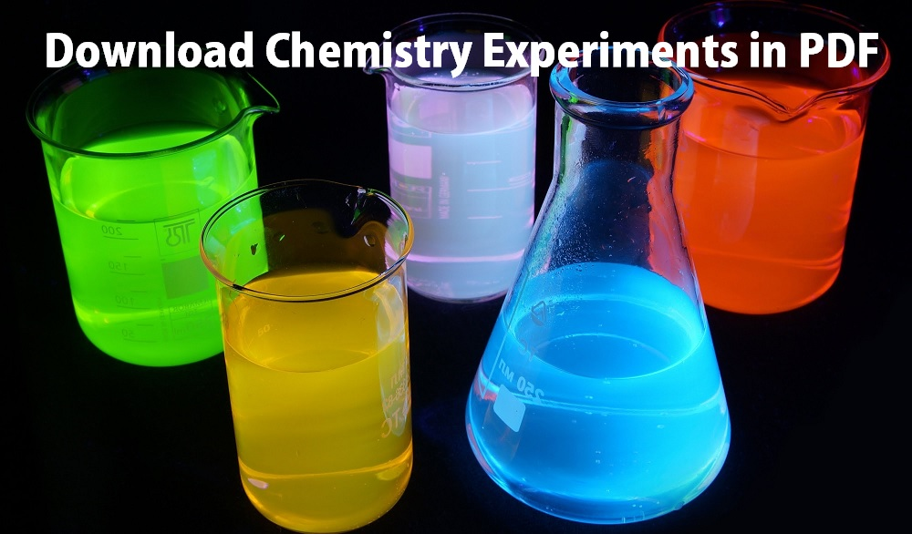 Download Chemistry Experiments and Science Projects in PDF