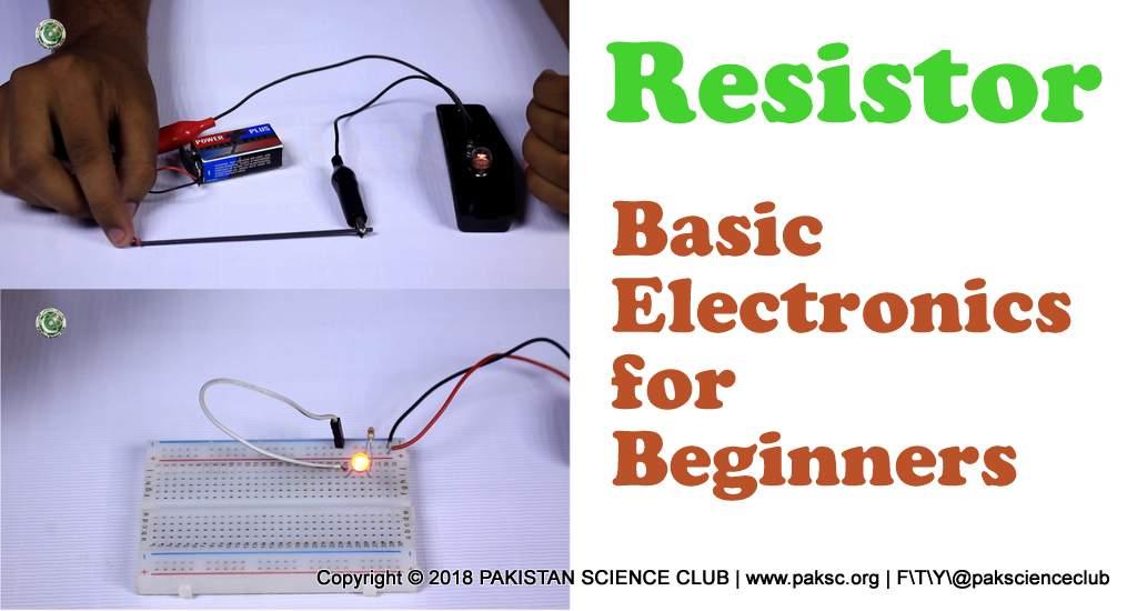 basic electronics Project resistor