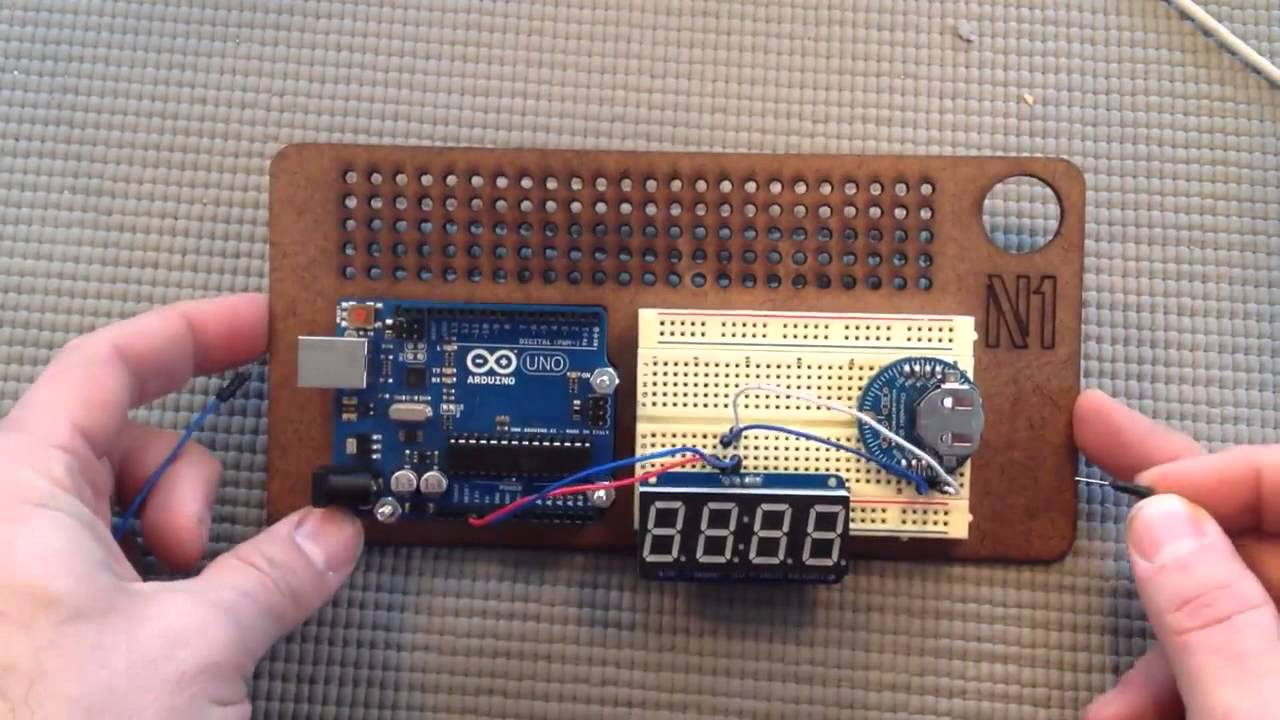 Digital code clock