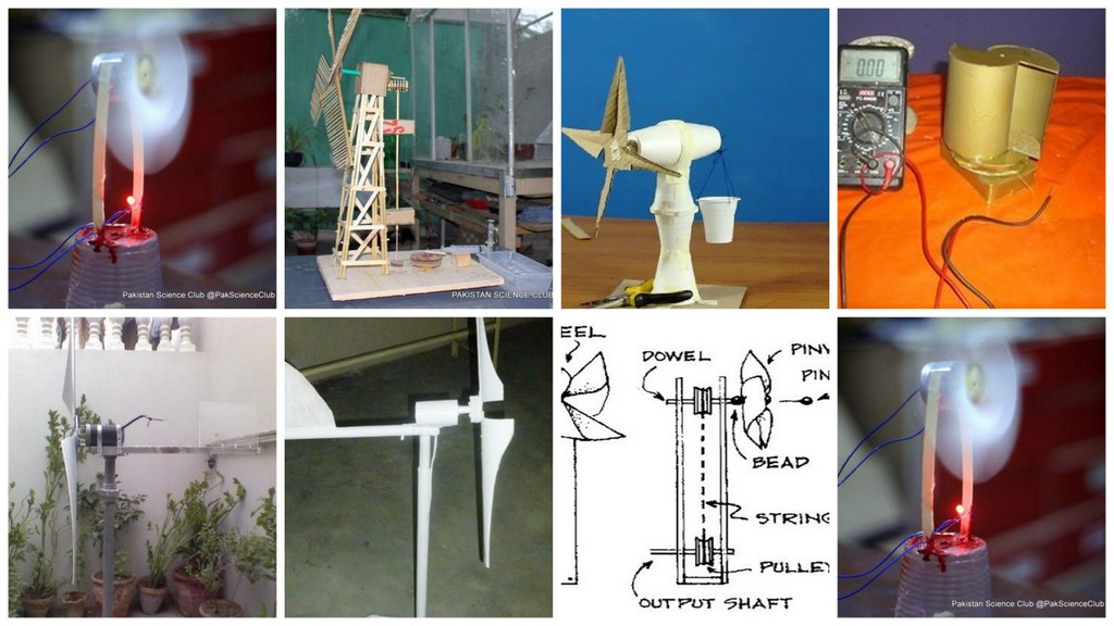 Renewable Energy Working Model of Science Fair Project