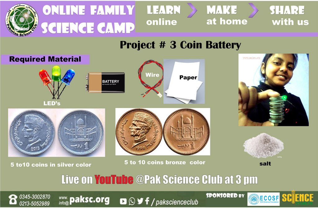 Coin Battery