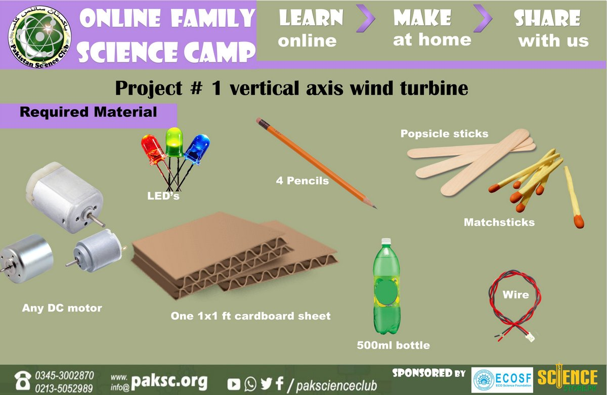 Generate Electricity from Wind Turbine