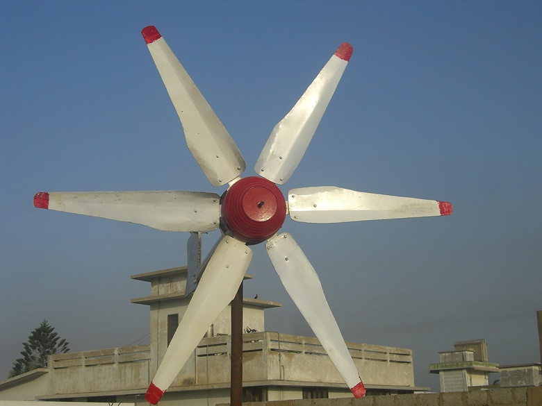 Photo Album New Ceiling Fan 6 Blades Wind Turbine