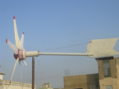 Photo album new ceiling fan 6 blades wind turbine pakistan new 6 blades ceiling fan wind turbine aloadofball Images